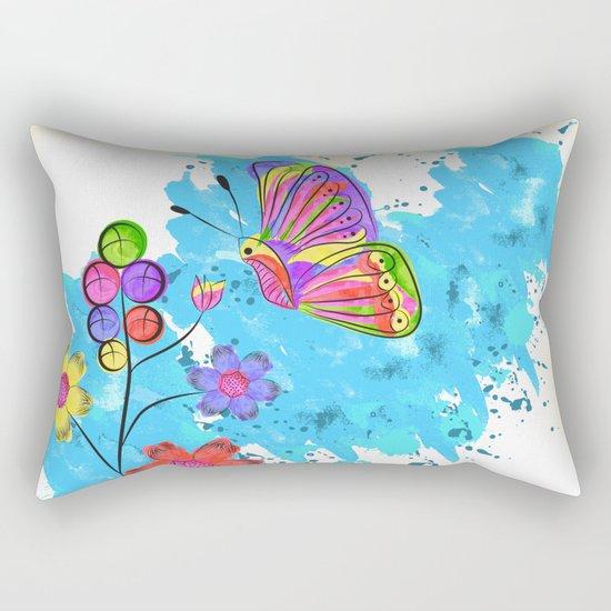 Season of Colors Rectangular Pillow