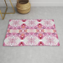 Dreamy Pink Palette (Abstract Painting) Rug