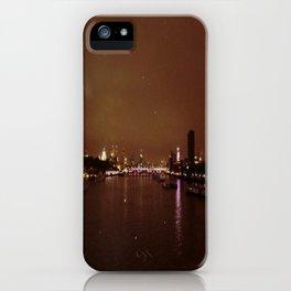 View From Waterloo Bridge #01  iPhone Case