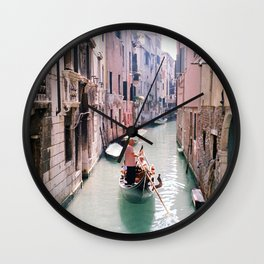 SINKING FOUNDATIONS Wall Clock