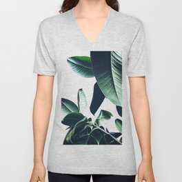Ficus Elastica #26 #foliage #decor #art #society6 Unisex V-Neck