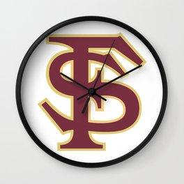 FSU Wall Clock