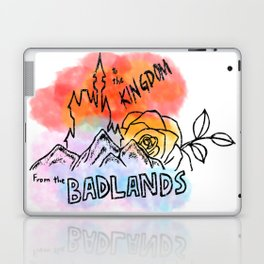 From the Badlands to the Kingdom Laptop & iPad Skin