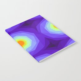Purple Blossoms Notebook