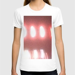 Abstracte Light Art in the Dark Version 37 T-shirt