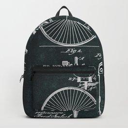 No049  1889  Velocipede . Inventor Thomas B. Jeffery ... Backpack