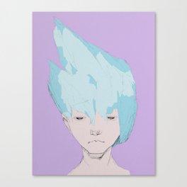 """Ice Shards""  Canvas Print"