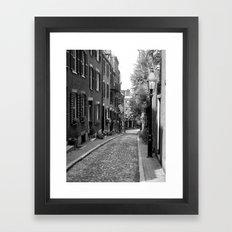 Acorn Street, Boston MA Framed Art Print