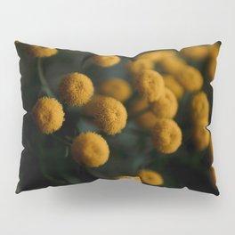 mustard yellow flowers Pillow Sham
