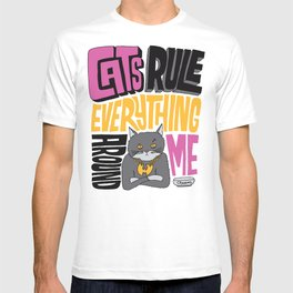 C.R.E.A.M. Cats Rule Everything Around Me T-shirt