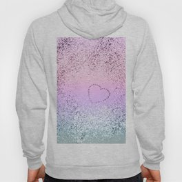 Sparkling UNICORN Girls Glitter Heart #1 #shiny #pastel #decor #art #society6 Hoody
