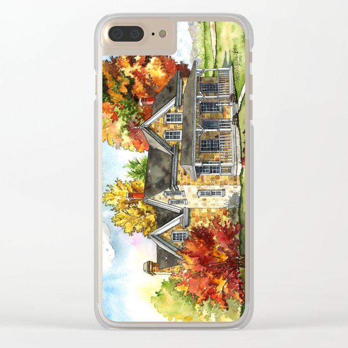 October on the Farm Clear iPhone Case