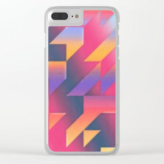 Gradient Harmonies Clear iPhone Case