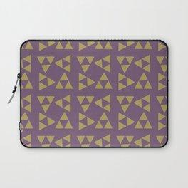 Print 132 - The Legend Of Zelda Triforce - Purple Laptop Sleeve
