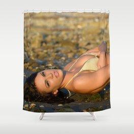 Annalise 5 Shower Curtain