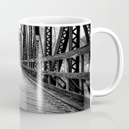 Old Train Bridge Bath, NH Coffee Mug