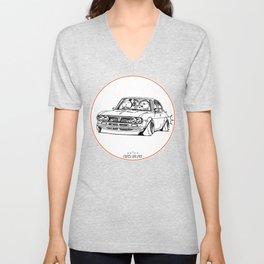 Crazy Car Art 0187 Unisex V-Neck