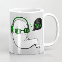yolo Mugs featuring Yolo by Ashdoun