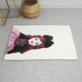 Pretty in Purple Doll Rug