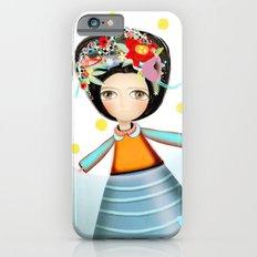 Frida and Ducks Yellow Polka Dots iPhone 6s Slim Case
