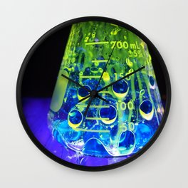 transluminate me baby Wall Clock