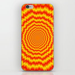 Big Bang in Red and Yellow iPhone Skin