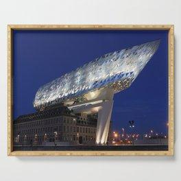 The Antwerp Port House | Zaha HADID architect Serving Tray
