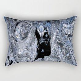 Between Ice Sixteen Rectangular Pillow