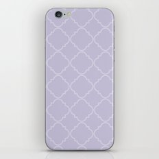 Quatrefoil - Lavender iPhone & iPod Skin