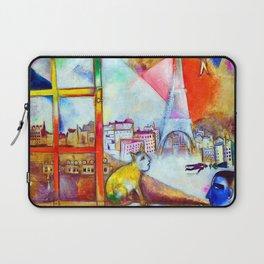 Marc Chagall Paris Through the Window Laptop Sleeve