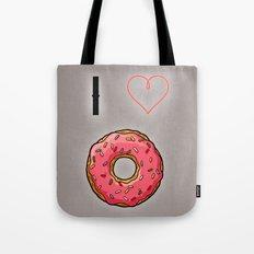 I love donut Tote Bag