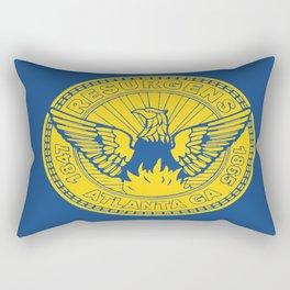 flag of atlanta Rectangular Pillow