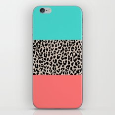 Leopard National Flag XVII iPhone Skin