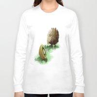 kiwi Long Sleeve T-shirts featuring kiwi vs kiwi by TFrenzy79