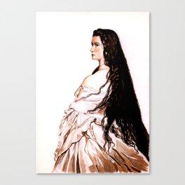 Sisi Canvas Print