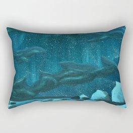 Winter's Kiss Rectangular Pillow