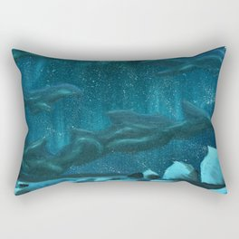Winter's Kiss Rectangular Pillow