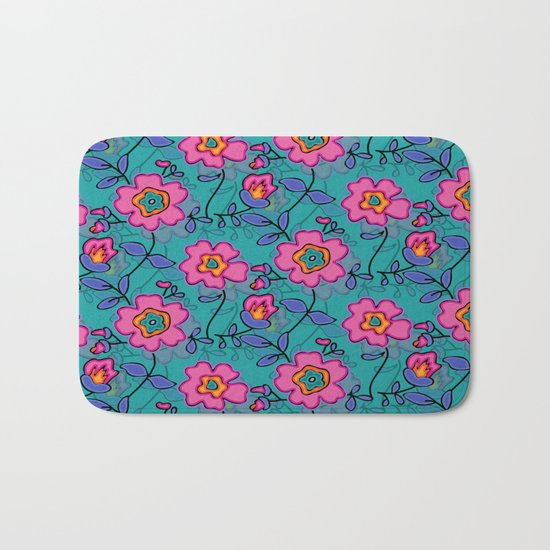 Flower 41 Bath Mat