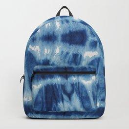 Tie Dye Blues Twos Backpack