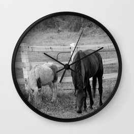 Together We're Apart Wall Clock