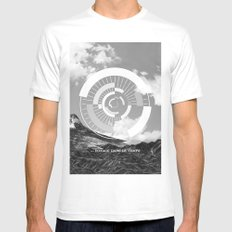 Voyage Dans Le Temps White Mens Fitted Tee MEDIUM