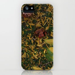 good bye summer hello autumn iPhone Case