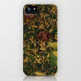 good bye summer hello autumn iPhone Case