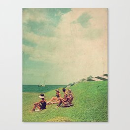 The Sun Forgot Us Canvas Print