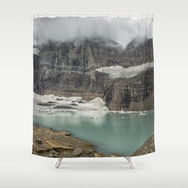Grinnell and Salamander Glaciers, Soon Things of the Past Shower Curtain