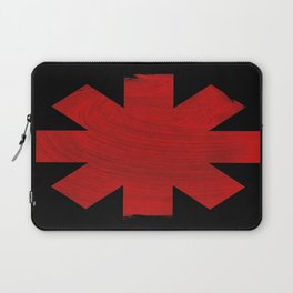 Chili Pepper Asterisk Laptop Sleeve