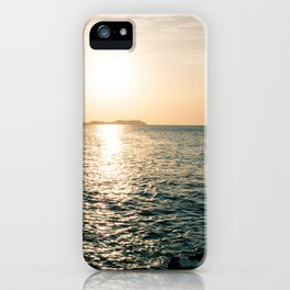 An Ibizian Sunset iPhone Case