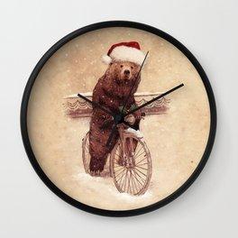 A Barnabus Christmas Wall Clock