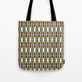Stretched String Beads Tote Bag
