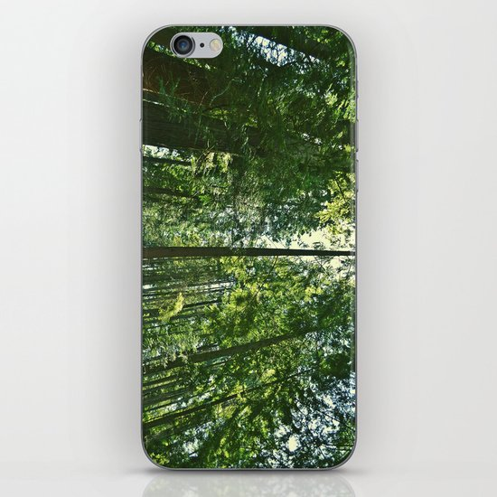 i want to be on the tops of all the trees iPhone & iPod Skin